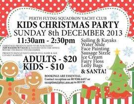 diptiranjan123 tarafından Design a Flyer for Christmas kids party için no 18