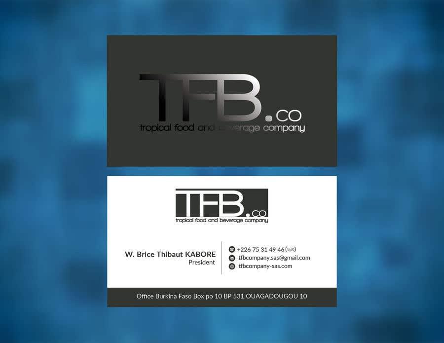 Contest Entry 22 For Conception De Carte Visite Business Card