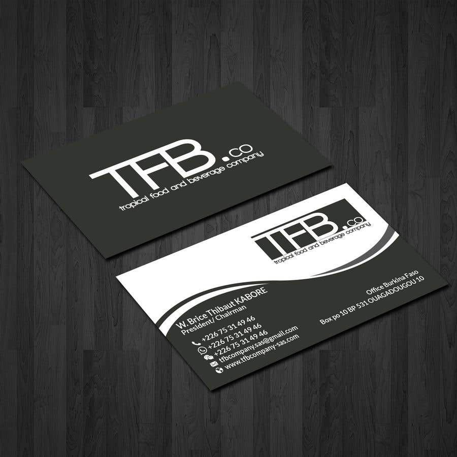 Conception De Carte Visite Business Card