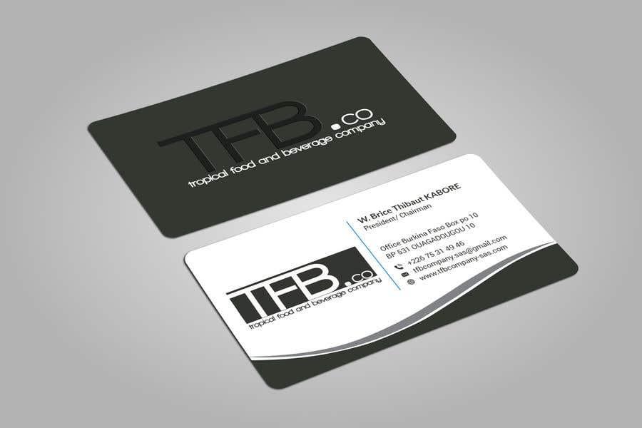 Contest Entry 79 For Conception De Carte Visite Business Card