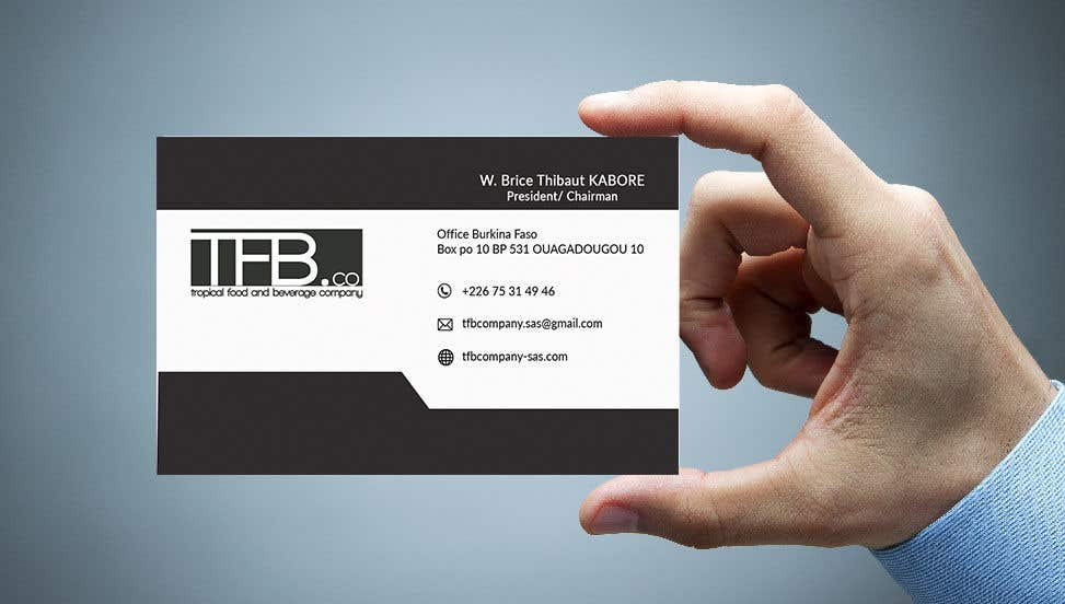 Contest Entry 302 For Conception De Carte Visite Business Card