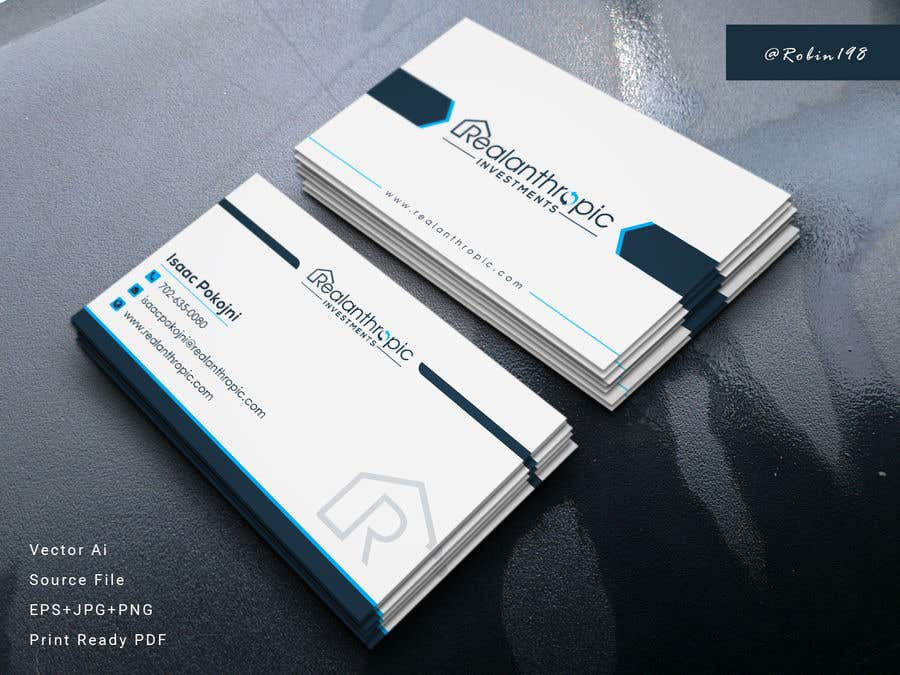 Entry #290 by Robin198 for Need A business card design urgent ...