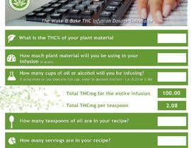 #4 for Create a cooking with cannabis dosage calculator for our website. by adminenc