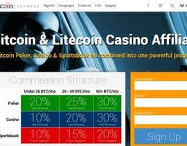 #5 , Unique Attractive Blockchain PSD Template 来自 eacin143