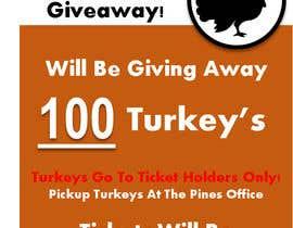 DannyLove tarafından Design a Flyer for Turkey Giveaway için no 1