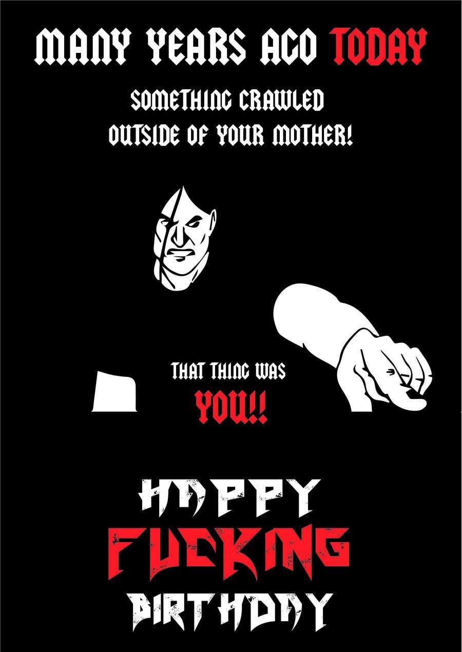 heavy metal birthday meme Entry #5 by ahmedelkammah for Birthday Card, heavy metal style  heavy metal birthday meme