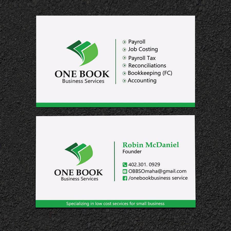 Entry 74 by sabbir2018 for fix my logo and redesign bookkeeping business card reheart Images