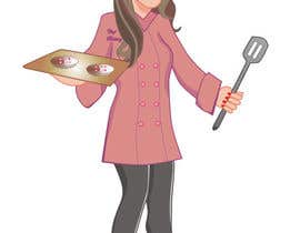 #37 para Create a cartoon Character called Chef Brittney por aarpum18