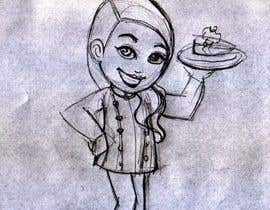 #11 untuk Create a cartoon Character called Chef Brittney oleh borkica
