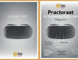 #6 for Design a magazine cover about active learning (VR, AR, gamifcation, etc.) by kevingardner1