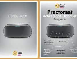 kevingardner1 tarafından Design a magazine cover about active learning (VR, AR, gamifcation, etc.) için no 6