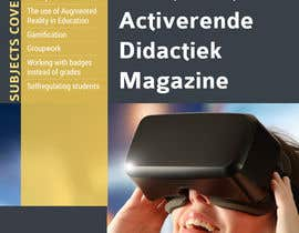 #4 for Design a magazine cover about active learning (VR, AR, gamifcation, etc.) by vivekdaneapen