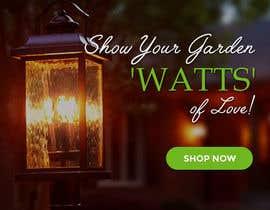 #65 para Design an Email Banner - Garden Lighting de kreativedesizn