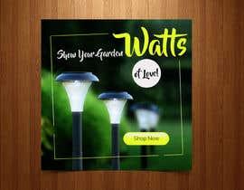 #80 para Design an Email Banner - Garden Lighting de avizeet85