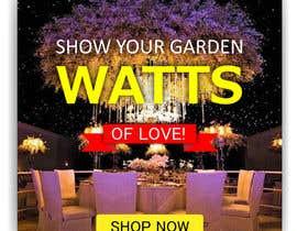 #62 para Design an Email Banner - Garden Lighting de Manik012