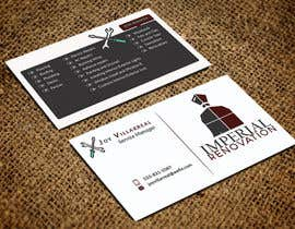 #118 for Design some Double Sided Business Cards by shantarose