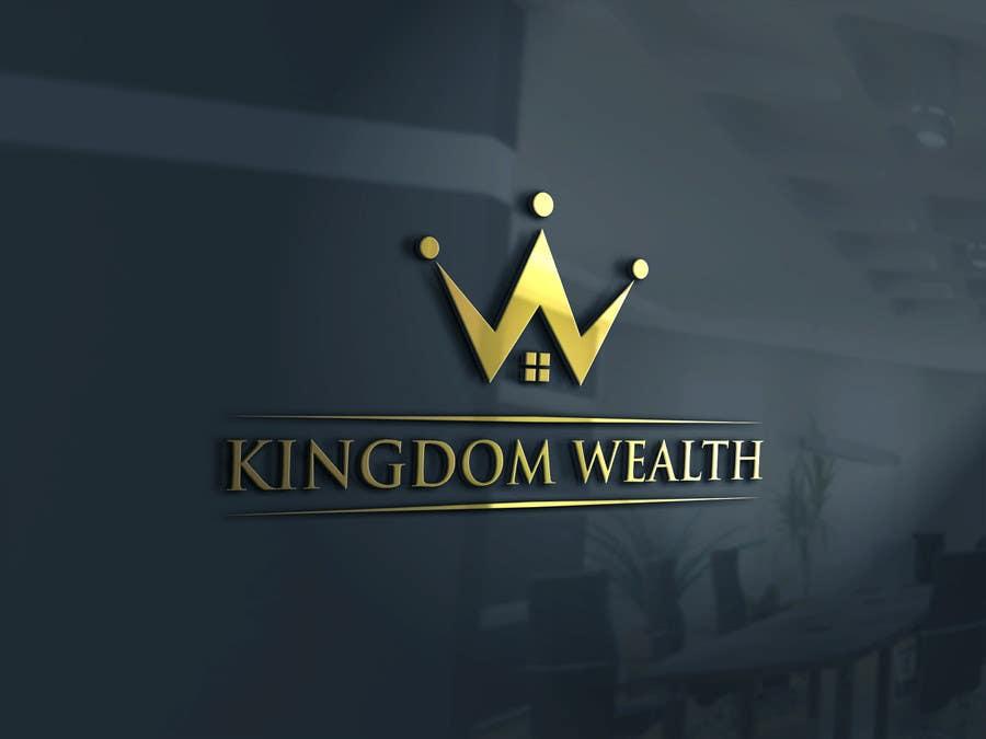 Bài tham dự cuộc thi #                                        56                                      cho                                         Design a Logo exuding KINGDOM WEALTH Int Realty