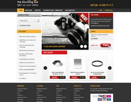#7 for New Graphic Design for photo equipment web shop  www.thebouncingbox.com af Pavithranmm