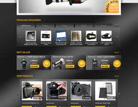 #4 para New Graphic Design for photo equipment web shop  www.thebouncingbox.com por datagrabbers