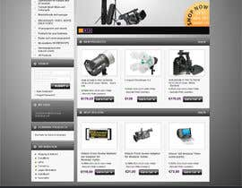 #5 para New Graphic Design for photo equipment web shop  www.thebouncingbox.com por datagrabbers