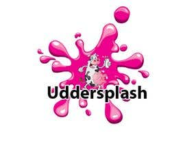 Nidagold님에 의한 Logo Design for Uddersplash을(를) 위한 #114