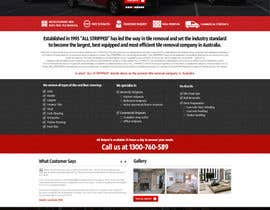 #50 untuk Design a Website Mockup for Tile Removal Company oleh nikil02an