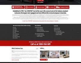 #51 untuk Design a Website Mockup for Tile Removal Company oleh nikil02an