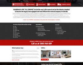 #52 untuk Design a Website Mockup for Tile Removal Company oleh nikil02an