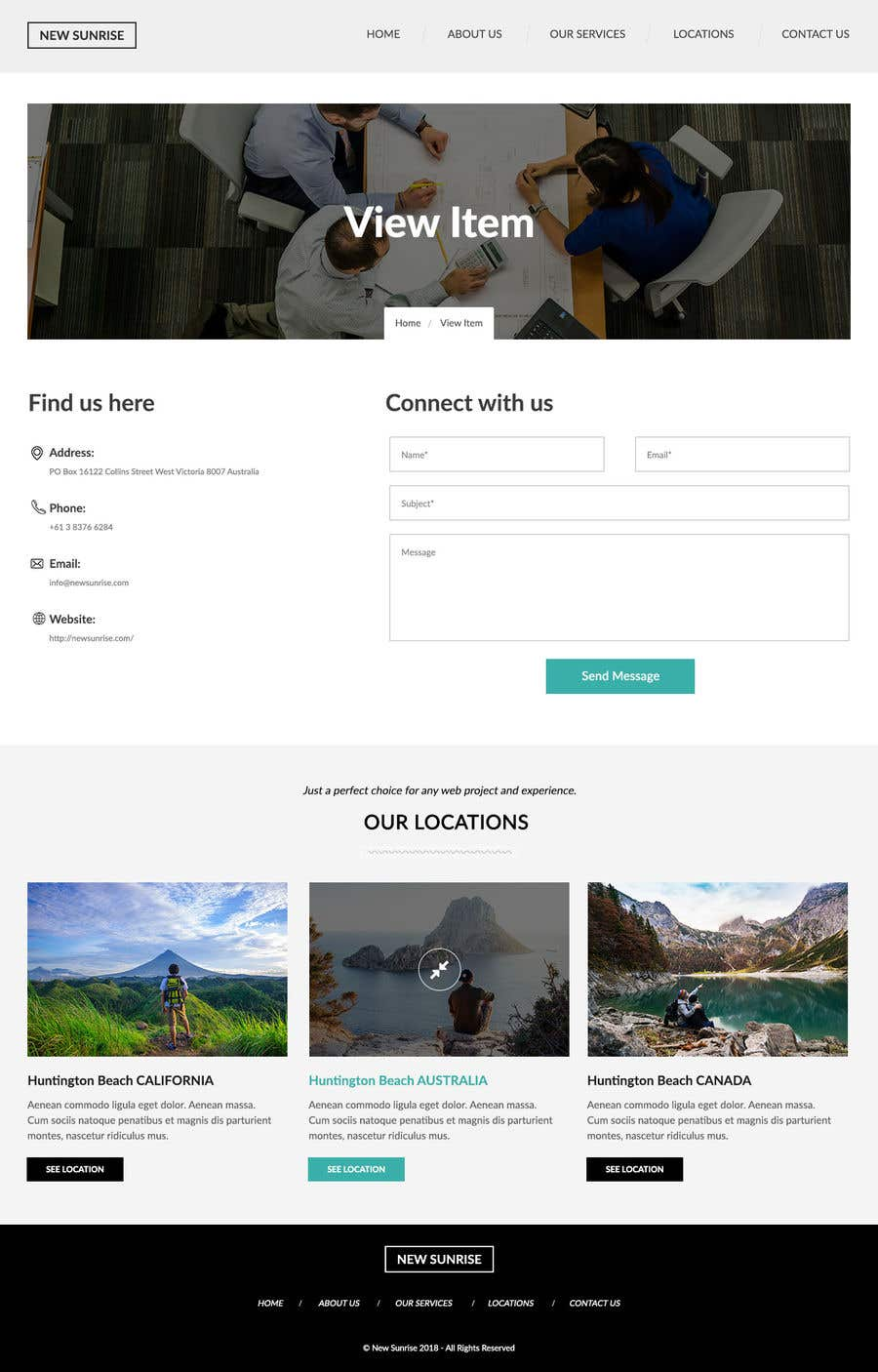 Entry 13 By Hemabajaj891 For Create A 4 Page Wordpress Based Site