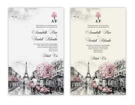 #41 para Design a wedding invitation de arirushstudio