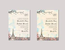 #184 para Design a wedding invitation de rayyyyyyyyyy