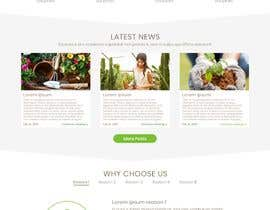 nº 27 pour Design homepage for website garden center par klein885