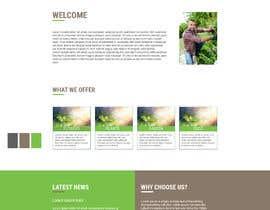 nº 26 pour Design homepage for website garden center par designfreakz