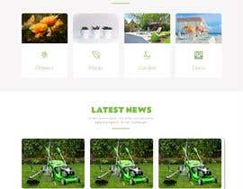 nº 9 pour Design homepage for website garden center par almasrorpartho