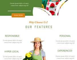 nº 42 pour Design homepage for website garden center par studio20th