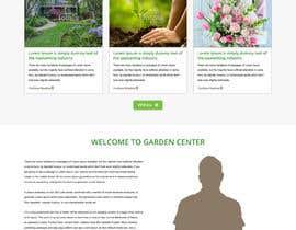 nº 34 pour Design homepage for website garden center par gravitygraphics7