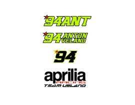 Nro 26 kilpailuun Design raceteam/rider profile logos käyttäjältä mariaphotogift