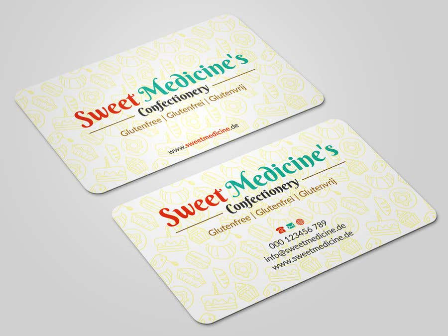 Entry 20 by iqbalsujan500 for design some business cards bakery contest entry 20 for design some business cards bakery reheart Choice Image