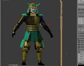 #2 untuk 3D Model - Samurai Character  - 3D Printing oleh artnimator