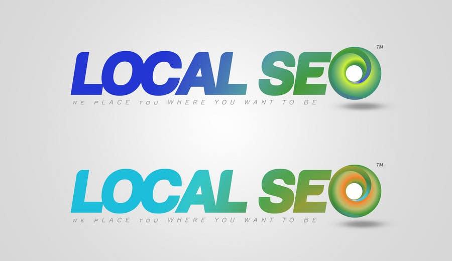 Kilpailutyö #315 kilpailussa Logo Design for Local SEO Inc