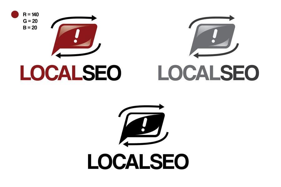 Kilpailutyö #147 kilpailussa Logo Design for Local SEO Inc