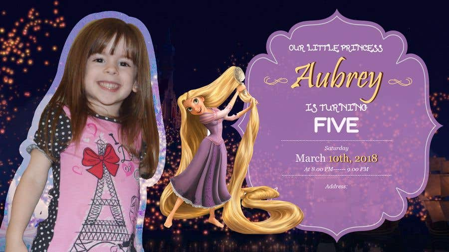 Entry 19 By Smpspro For Design A Childs 5th Birthday Party Banner