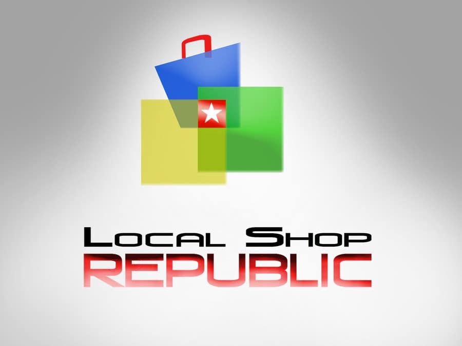 Конкурсная заявка №546 для Logo Design for Local Shop Republic