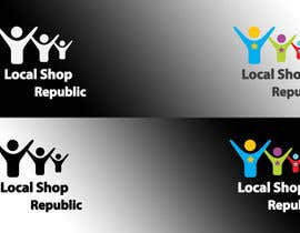 #117 untuk Logo Design for Local Shop Republic oleh novodesigns