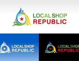 #262 para Logo Design for Local Shop Republic por OneTeN110
