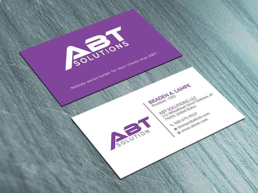 Entry 247 by neamotullah for build me a business card design business card colourmoves