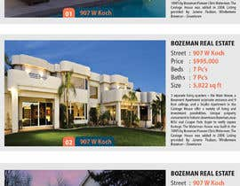 "#8 para Real Estate ""Top 10"" Page design. de tazulv2027"