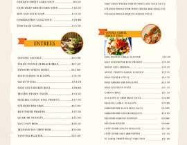 #1 for I need a menu design concept by nassairuddin