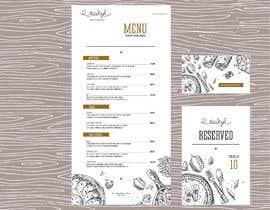 #4 for I need a menu design concept by imonraza