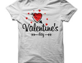 #47 for I need to design a T-Shirt for Valentine's Day af Mostakim1011